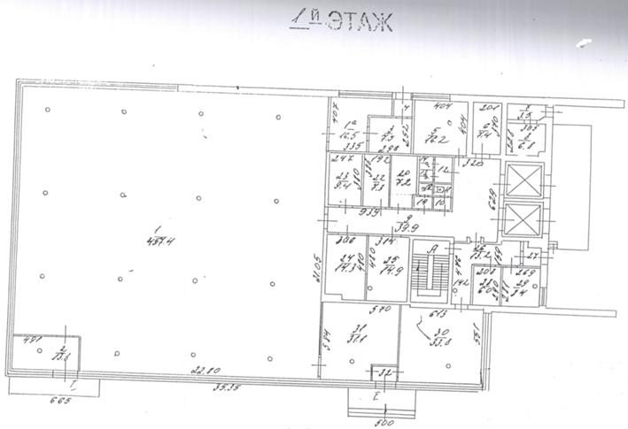 План-схема подвального